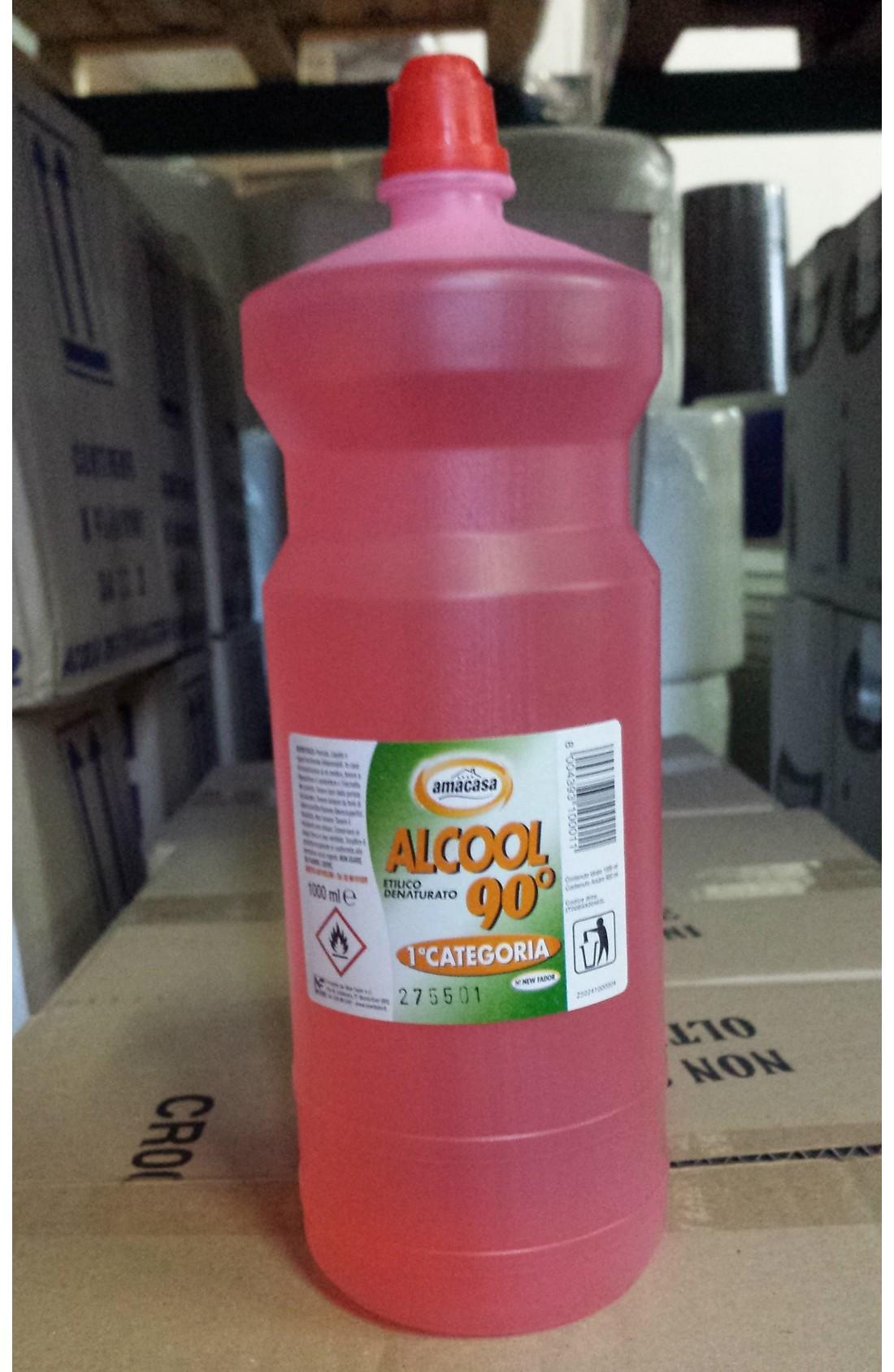 Alcool etilico lt. 1