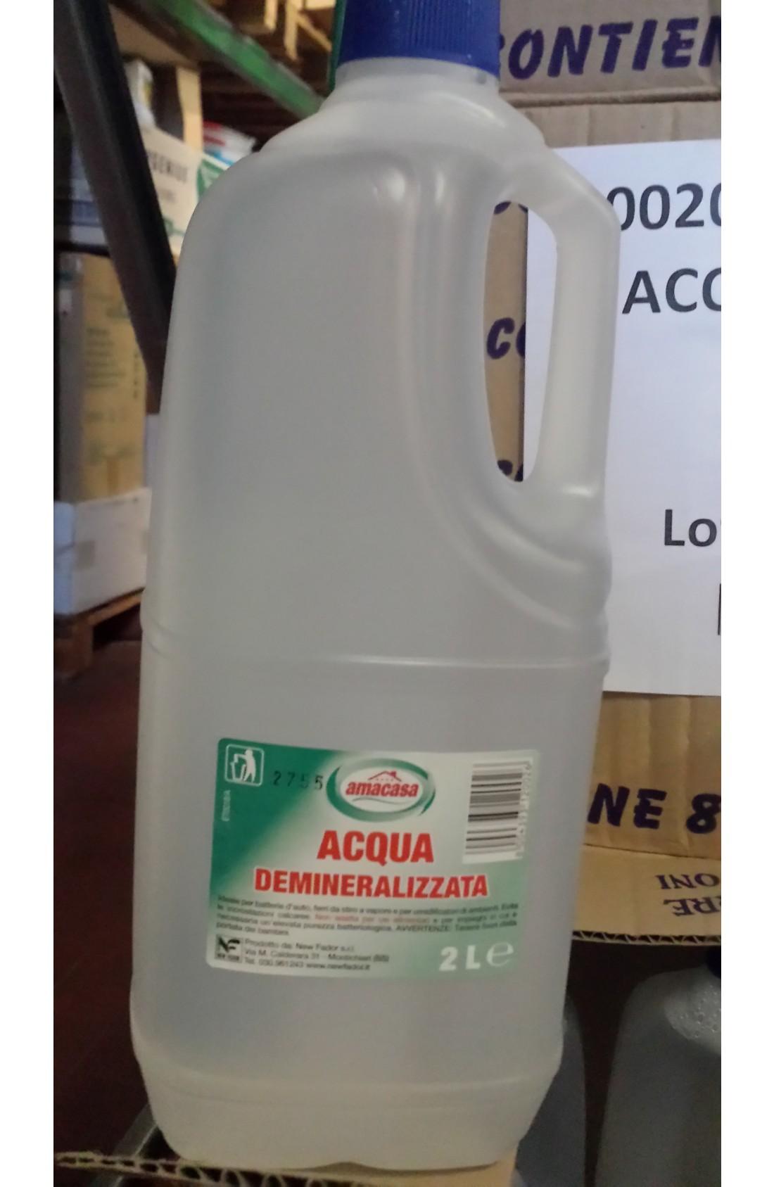 Acqua distillata lt. 2