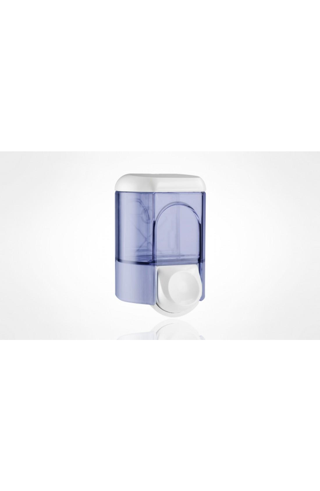 Dispenser sapone liquido bianco/trasparente