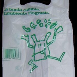 Borsa biodegradabile compostabile in Mater-bi