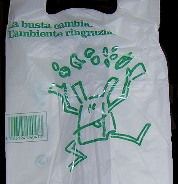 Borsa biodegradabile compostabile in Mater-bi