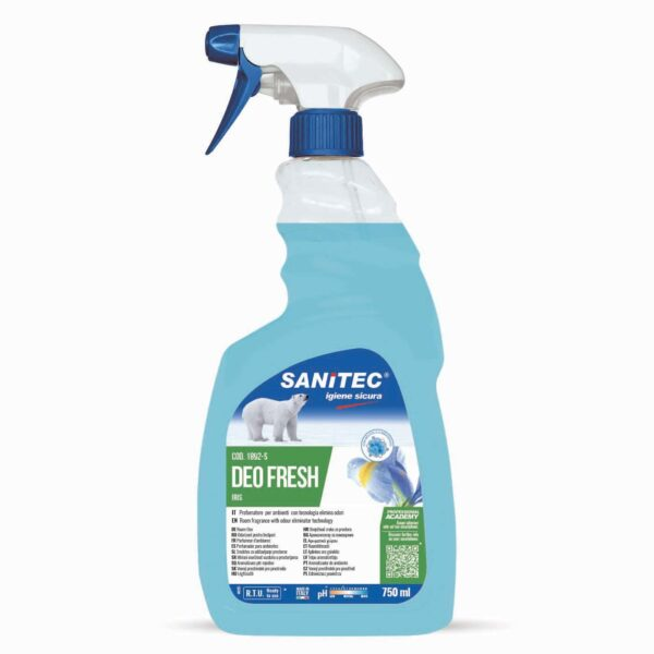 DEO FRESH deodorante spray talco e iris - 750 ml