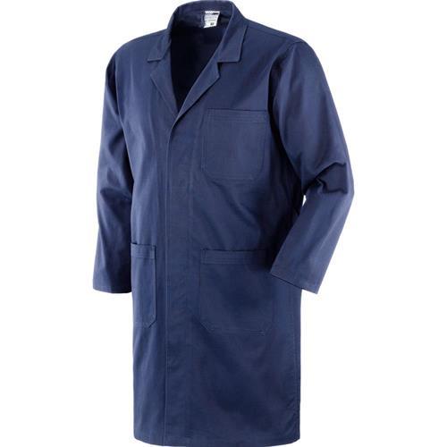 camice da lavoro blu
