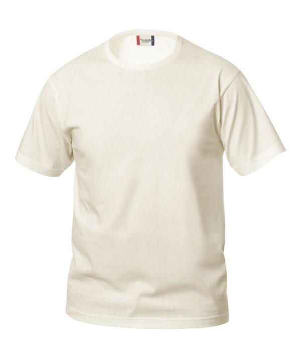 T-shirt CLIQUE panna