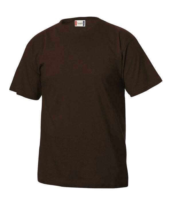 T-shirt CLIQUE marrone