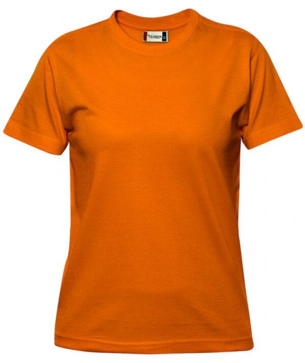 T-shirt CLIQUE arancio