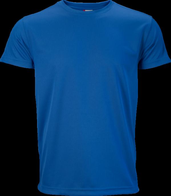 T-shirt Clique blu brillante