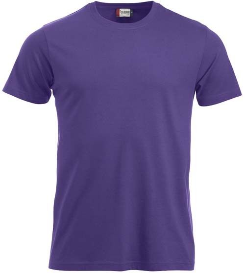 T-shirt CLIQUE viola