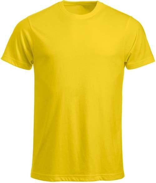 T-shirt CLIQUE gialla