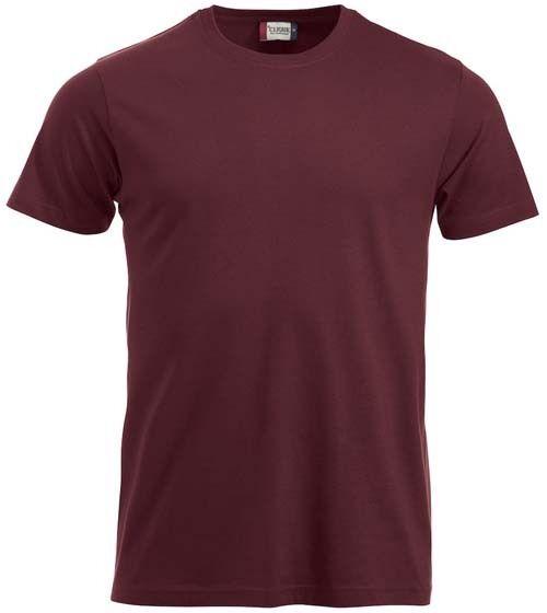 T-shirt CLIQUE bordeaux