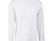 T-shirt JHK bianca manica lunga