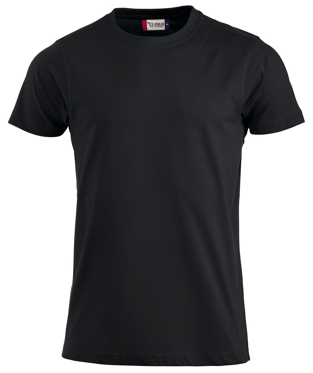 T-shirt CLIQUE nera