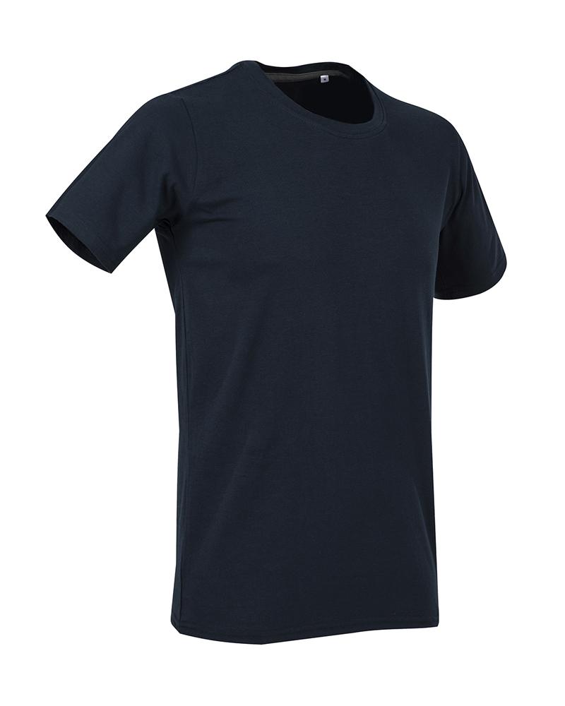 T-shirt blu scuro