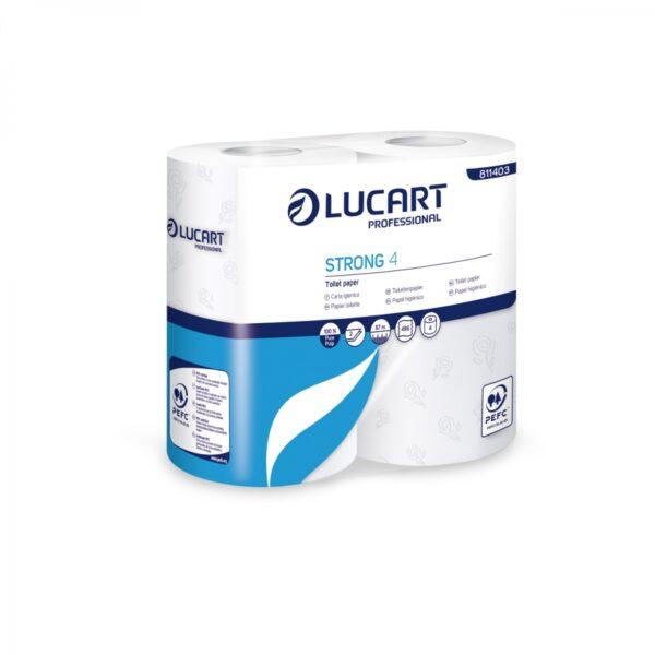 Carta igienica Lucart STRONG 4 rotoli