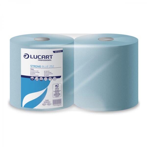 Rotolo Lucart STRONG Blue 252 - conf. da 2 rotoli