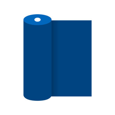 Tovaglia a rotolo blu