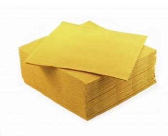 Tovaglioli microincollati gialli